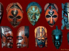 Objets Masques africains