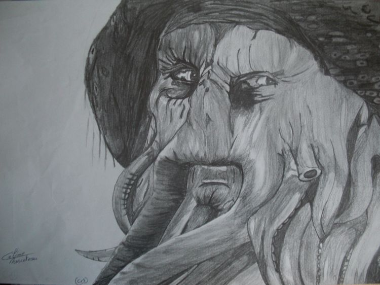 Wallpapers Art - Pencil Movies - TV Soaps Davy Jones