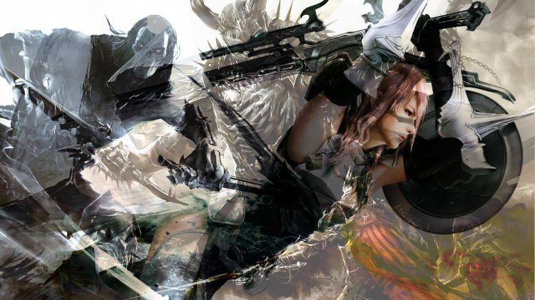 Fonds d'écran Art - Numérique Jeux Video G0st Warriors
