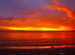 Nature Couché de soleil sur L'Anse Vata