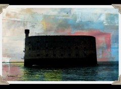 Constructions and architecture Fort Boyard...