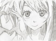 Art - Pencil Lucy Heart
