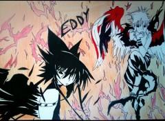 Art - Crayon Angel of darkness
