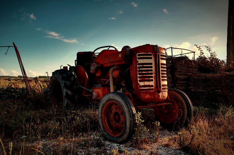 Fonds d'écran Transports divers Tracteurs Good old car