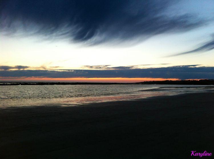 Fonds d'écran Nature Mers - Océans - Plages une vague de nuage