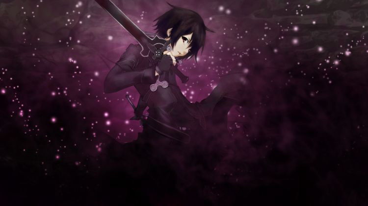 Wallpapers Manga Sword Art Online Kirito - Sword art online