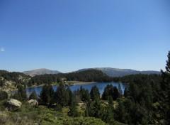 Nature lacs de montagnes