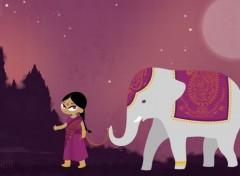 Art - Numérique Lali et l'éléphant