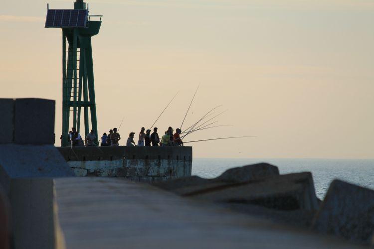 Fonds d'écran Sports - Loisirs Pêche Port En Bessin - Normandie - France
