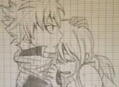 Art - Crayon natsu et lucy