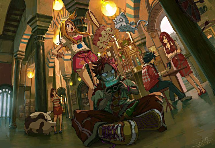 Fonds d'écran Manga Fairy Tail Wallpaper N°312295