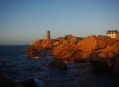 Nature Coucher de soleil sur le phare de Ploumanach