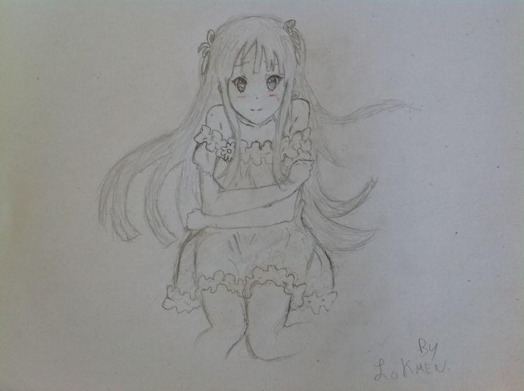 Fonds d'écran Art - Crayon Manga - Divers K-ON! Mio