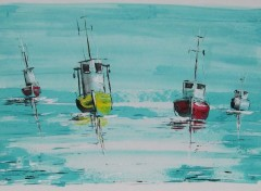 Art - Peinture Marines acryliques