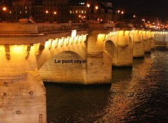 Voyages : Europe le pont Royal
