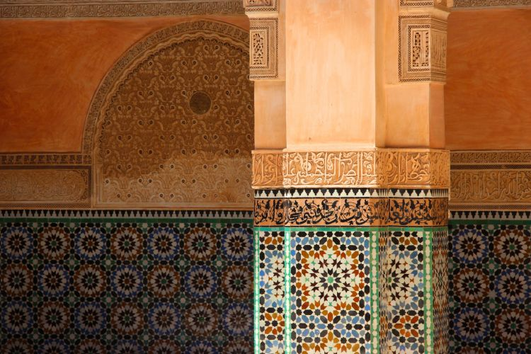 Wallpapers Constructions and architecture Roofs - Walls - Fencing Merveille du Maroc