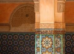 Constructions and architecture Merveille du Maroc
