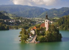 Voyages : Europe Lac Bled