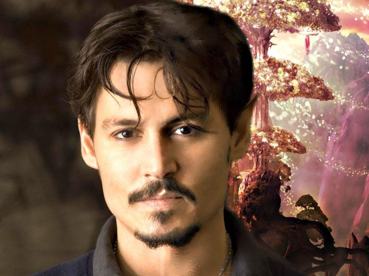 Fonds d'écran Célébrités Homme Johnny Depp Deep inside the forest