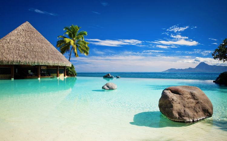 Wallpapers Nature Paradisiac Islands Wallpaper N°314397