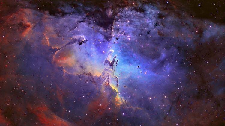 Wallpapers Space Stars - Nebulae Nébuleuse de l'aigle