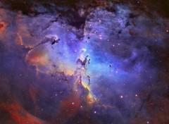 Space Nébuleuse de l'aigle