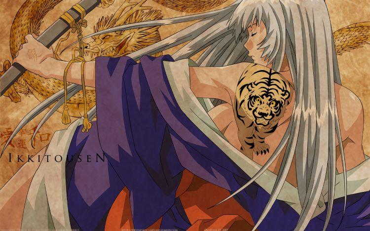 Fonds d'écran Manga Ikkitousen Dragon Destiny Ikkitousen