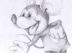 Art - Pencil Mickey!