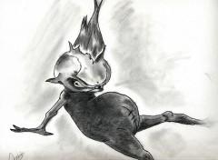 Art - Pencil Gobelins et Trolls divers