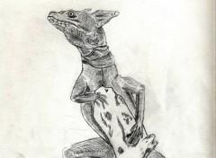Art - Crayon Lezard