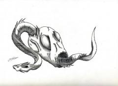 Art - Crayon creatures fantastique indefinit