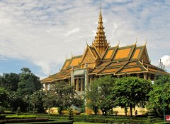 Voyages : Asie palais royal (phnom penh)