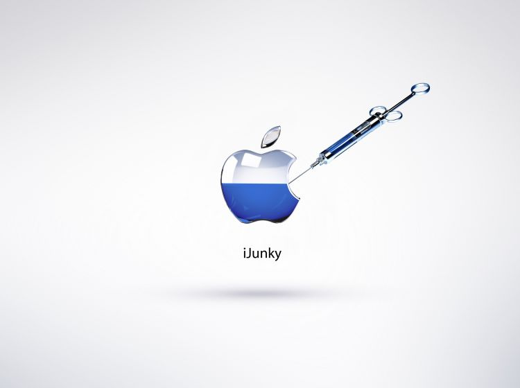 Fonds d'écran Informatique Apple iJunky