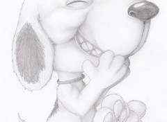 Art - Pencil Snoopy ;D