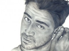 Art - Pencil Colin Farell