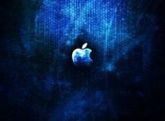 Informatique apple blue