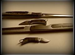 Objects vieux couteaux