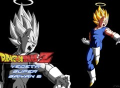 Manga Fond d'écran de Vegeta super saiyan 2