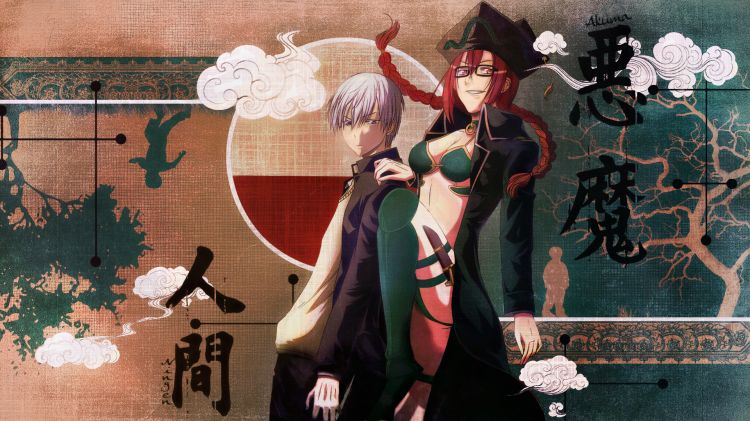 Fonds d'écran Manga Beelzebub Furuichi Takayuki and Agiel