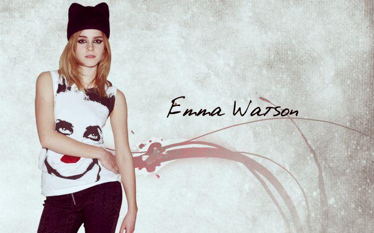 Fonds d'écran Célébrités Femme Emma Watson Wallpaper N°318500