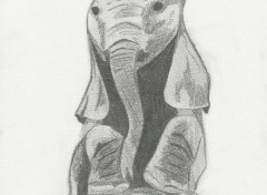 Art - Pencil Elephanteau