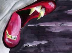 Art - Peinture Le baiser de la nuit