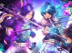Manga Rokudo Mukuro vs Daemon Spade
