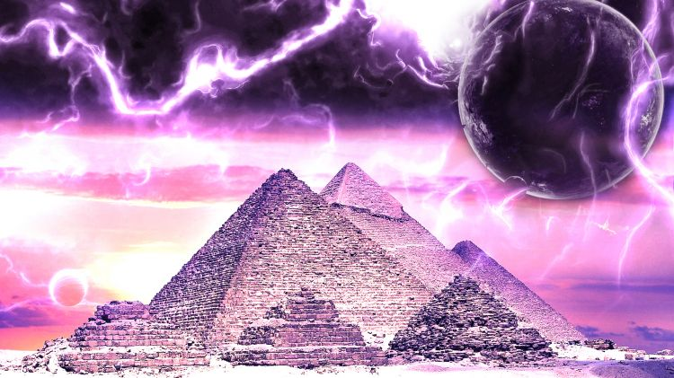 Wallpapers Digital Art Architecture - constructions Pyramides