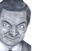 Art - Crayon Rowan Atkinson