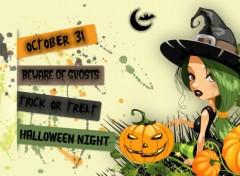 Art - Numérique Halloween