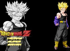 Manga Fond d'écran de Trunks super saiyan