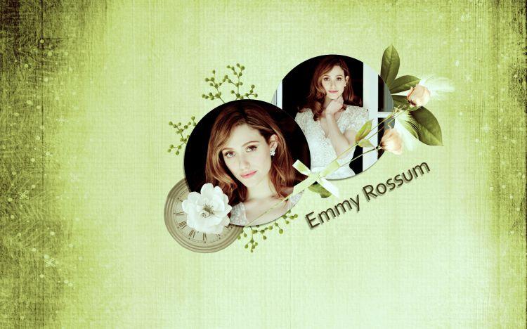 Wallpapers Celebrities Women Emmy Rossum Wallpaper N°319876