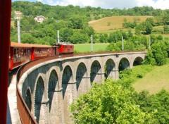 Various transports Feu le petit train de la mure ...et son parcours