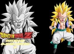 Manga Fond d'écran de Gotenks super saiyan 3